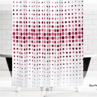 Штора для ванной Evdy DROP полиэстер (V11)