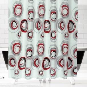 Штора для ванной Evdy DROP полиэстер V14 180х200