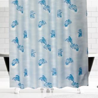 Штора для ванной Evdy DROP полиэстер (V15)