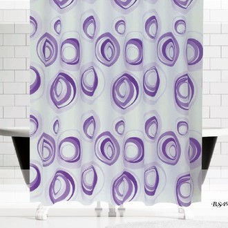 Штора для ванной Evdy DROP полиэстер V13