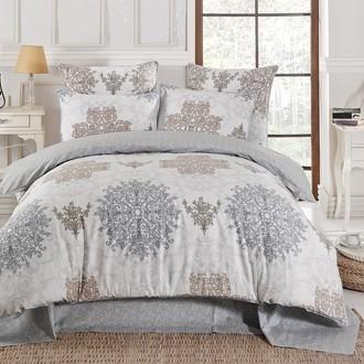 Комплект постельного белья Karna DELUX BORA сатин хлопок