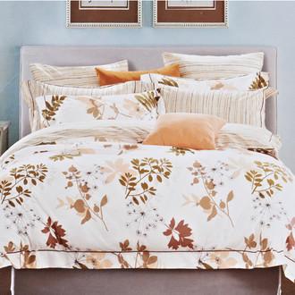 Комплект постельного белья Karna DELUX BELINA сатин хлопок