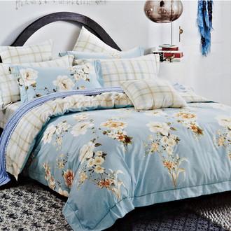 Комплект постельного белья Karna DELUX ELVIRO сатин хлопок
