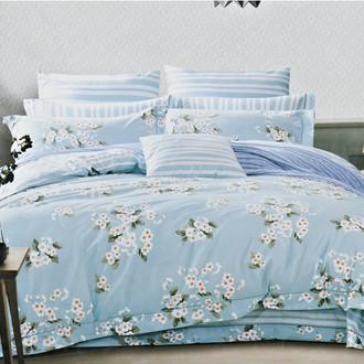 Комплект постельного белья Karna DELUX LORENZ сатин хлопок