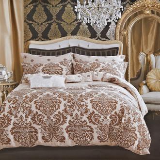 Комплект постельного белья Karna DELUX MAURA сатин хлопок