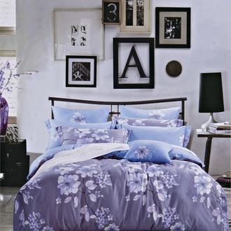 Комплект постельного белья Karna DELUX JASMIN сатин хлопок