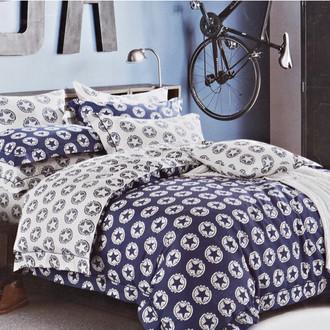Комплект постельного белья Karna DELUX ESTEE сатин хлопок