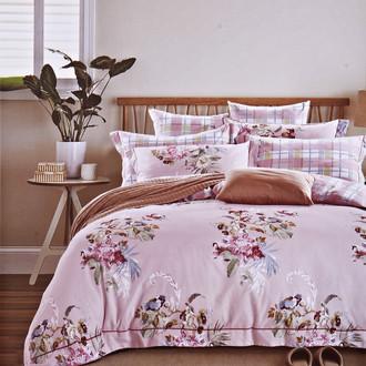 Комплект постельного белья Karna DELUX NEROLI сатин хлопок