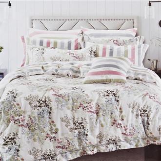Комплект постельного белья Karna DELUX SUENA сатин хлопок