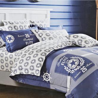 Комплект постельного белья Karna DELUX ARMEDA сатин хлопок