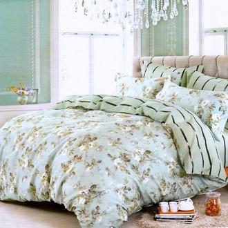 Комплект постельного белья Karna DELUX PANSY сатин хлопок