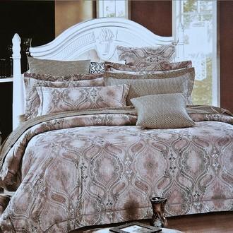 Комплект постельного белья Karna DELUX DECOL сатин хлопок