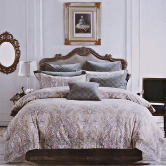 Комплект постельного белья Karna DELUX VERDI сатин хлопок