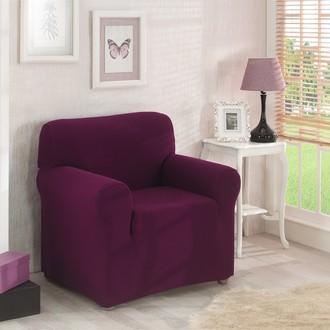 Чехол на кресло Karna NAPOLI (бордовый)