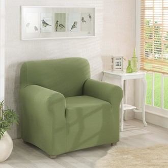 Чехол на кресло Karna NAPOLI зелёный