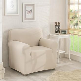 Чехол на кресло Karna NAPOLI кремовый