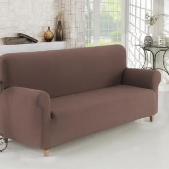 Чехол на диван Karna NAPOLI коричневый