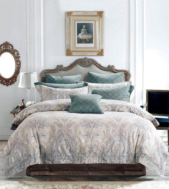 Комплект постельного белья Tango TS-X23 хлопковый сатин 2-х спальный (нав. 50*70 см), фото, фотография