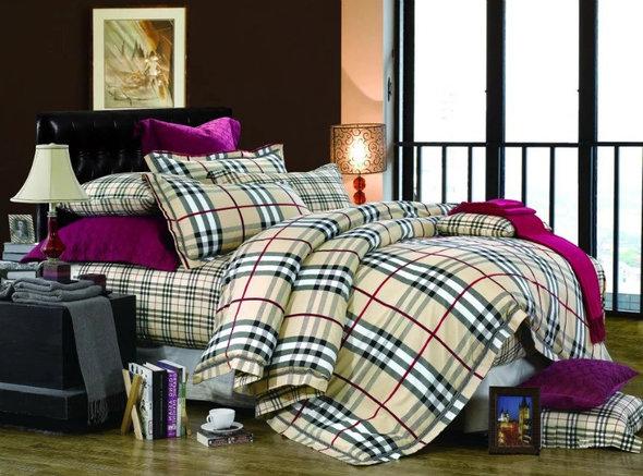 Комплект постельного белья Tango TS-X43 сатин хлопок евро, фото, фотография