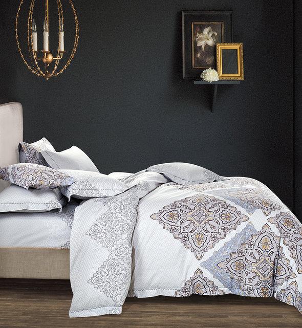 Комплект постельного белья Tango TS-X11 сатин хлопок евро, фото, фотография