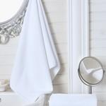 Полотенце для ванной Karna LINA хлопковая махра 50х70, фото, фотография