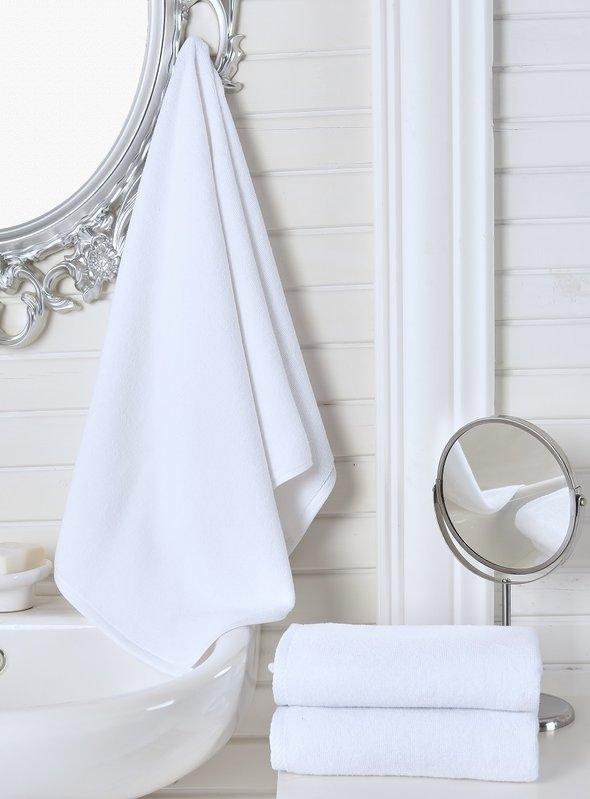 Полотенце для ванной Karna LINA хлопковая махра 50*70, фото, фотография