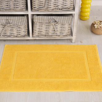Коврик для ванной Karna GREN махра хлопок (жёлтый)