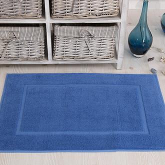 Коврик для ванной Karna GREN махра хлопок (голубой)