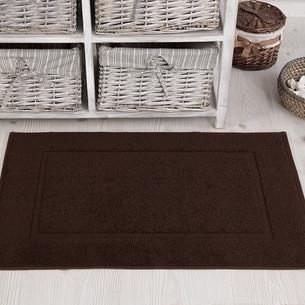 Коврик для ванной Karna GREN махра хлопок коричневый 50х70