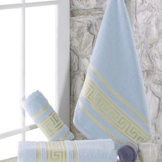 Полотенце для ванной Karna ITEKA махра хлопок (светло-голубой)