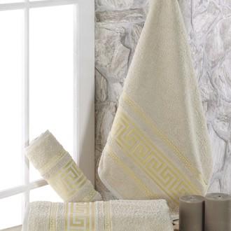 Полотенце для ванной Karna ITEKA махра хлопок (бежевый)