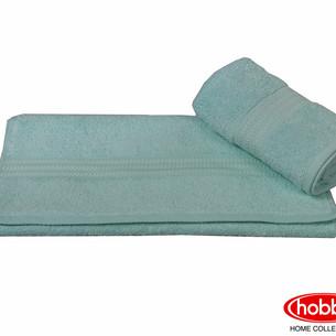 Полотенце для ванной Hobby Home Collection RAINBOW хлопковая махра лазурный 70х140