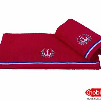 Полотенце для ванной Hobby Home Collection MARITIM хлопковая махра (красный)
