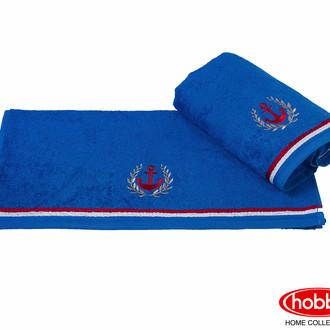 Полотенце для ванной Hobby Home Collection MARITIM хлопковая махра синий