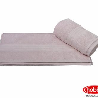 Полотенце для ванной Hobby Home Collection RAINBOW хлопковая махра (светлая пудра)