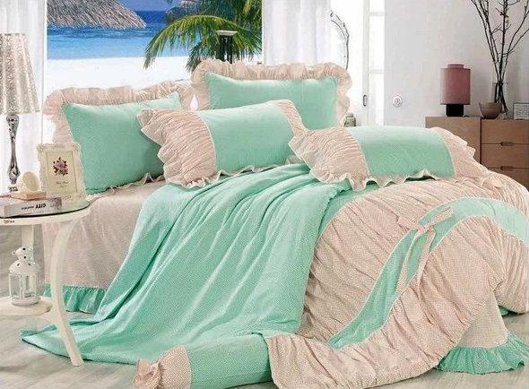 Комплект постельного белья Tango ПРОВАНС 948 хлопковый сатин евро, фото, фотография