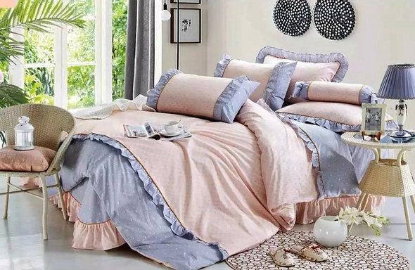 Комплект постельного белья Tango ПРОВАНС 947 хлопковый сатин евро, фото, фотография