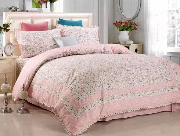 Комплект постельного белья Tango ПРОВАНС 945 хлопковый сатин евро, фото, фотография