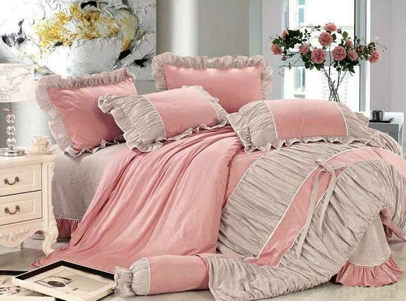 Комплект постельного белья Tango ПРОВАНС 949 хлопковый сатин евро, фото, фотография