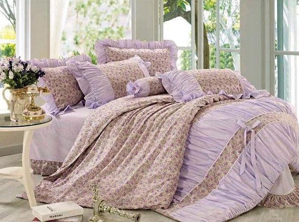 Комплект постельного белья Tango ПРОВАНС 950 хлопковый сатин евро, фото, фотография