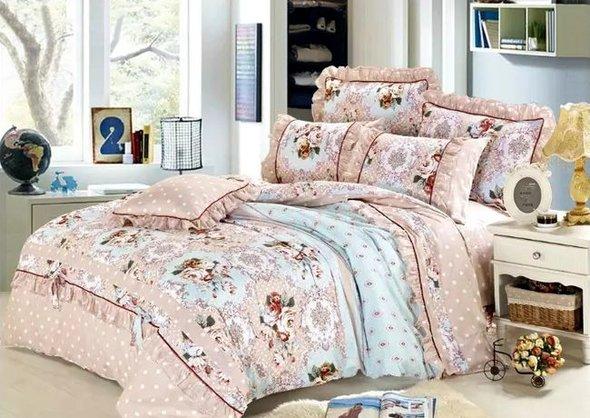 Комплект постельного белья Tango ПРОВАНС 960 хлопковый сатин евро, фото, фотография