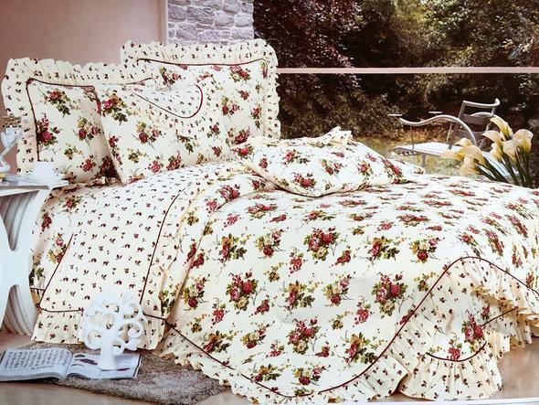 Комплект постельного белья Tango ПРОВАНС 941 хлопковый сатин евро, фото, фотография