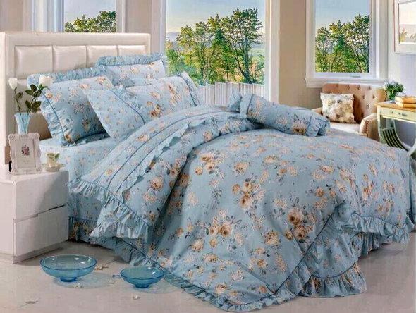 Комплект постельного белья Tango ПРОВАНС 942 хлопковый сатин евро, фото, фотография