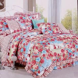 Постельное белье Tango ПРОВАНС 988 хлопковый сатин 1,5 спальный