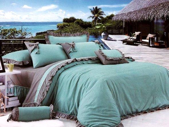 Комплект постельного белья Tango ПРОВАНС 985 хлопковый сатин 1,5 спальный, фото, фотография