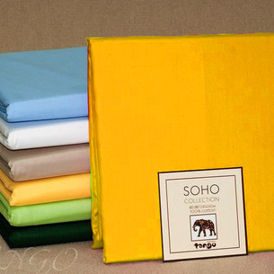 Простынь Tango SOHO BS2426-23 хлопковый сатин 240х260