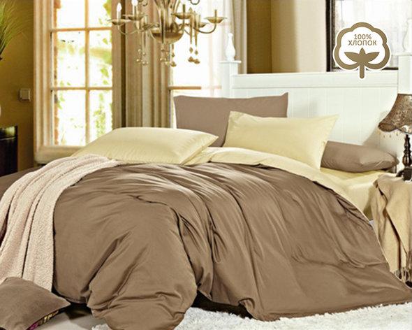 Комплект постельного белья Tango 1014-JT29 хлопковый сатин евро, фото, фотография