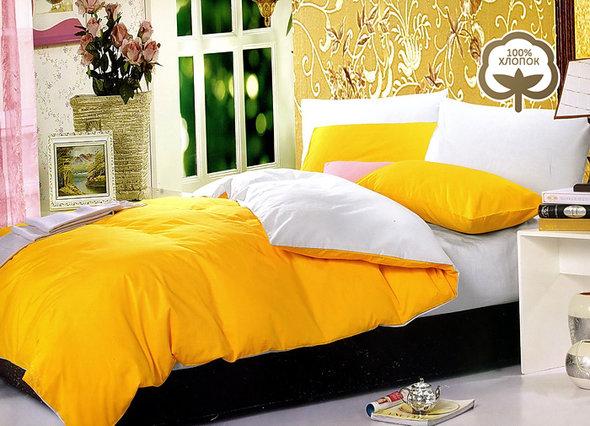 Комплект постельного белья Tango 1014-JT23 хлопковый сатин евро, фото, фотография