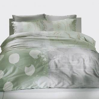 Комплект постельного белья TAC SATIN GRISEL хлопковый сатин (мятный)