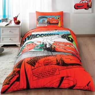 Комплект детского постельного белья TAC CARS COMICS хлопковый ранфорс